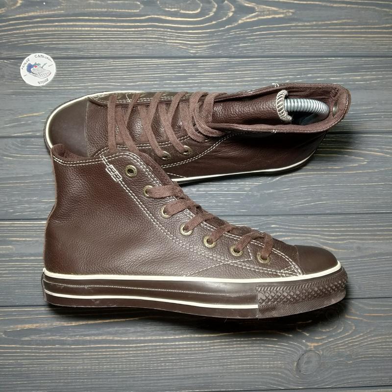 Кожаные кеды converse оригинал! 38 размер 24.5 см