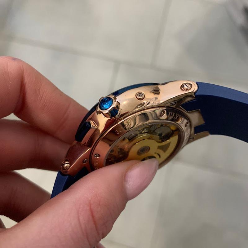 Наручные часы Ulysse Nardin Executive El Toro GMT Годинник часи - Фото 2