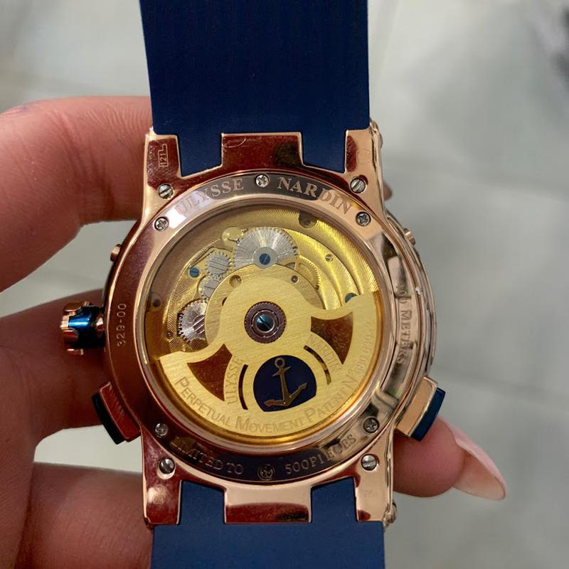 Наручные часы Ulysse Nardin Executive El Toro GMT Годинник часи - Фото 3