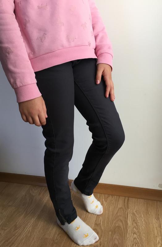 Красивые штаны, джинсы на девочку 9-10 лет, р. 138, vertbaudet.