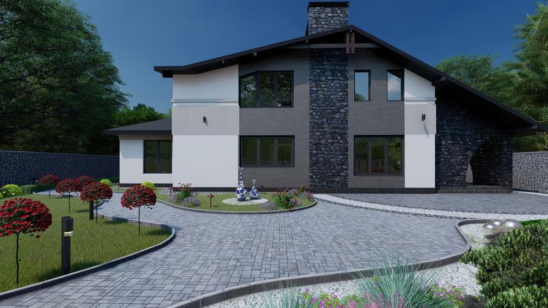 Архітектурне проектування ,дизайн, дизайн фасадів, візуалізація3D