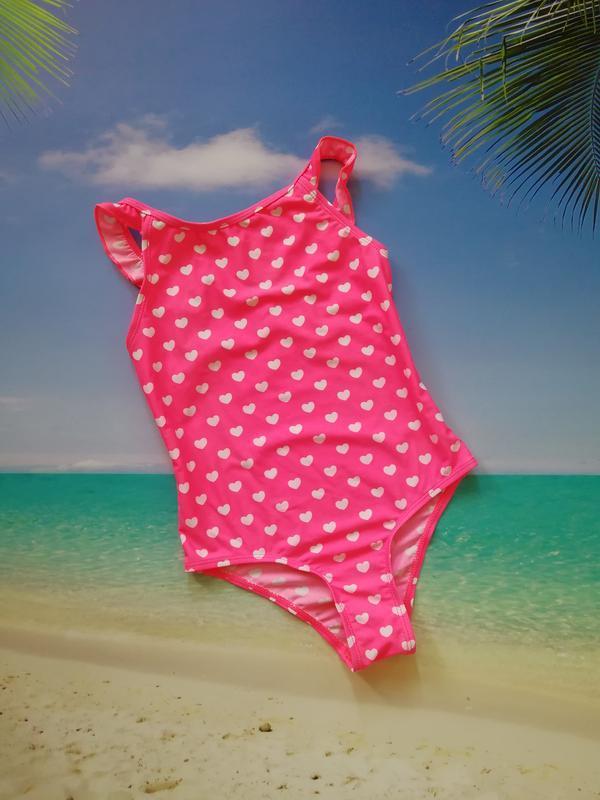 Сдельный купальник для девочки