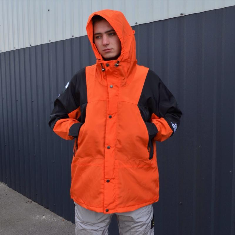 Куртка supreme the north face light orange