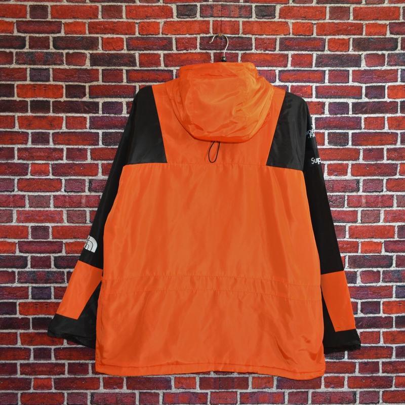Куртка supreme the north face light orange - Фото 2