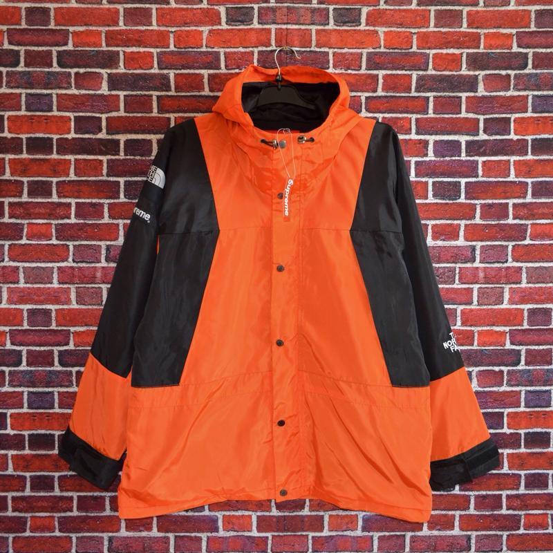 Куртка supreme the north face light orange - Фото 3