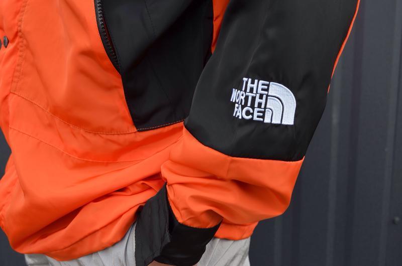 Куртка supreme the north face light orange - Фото 5