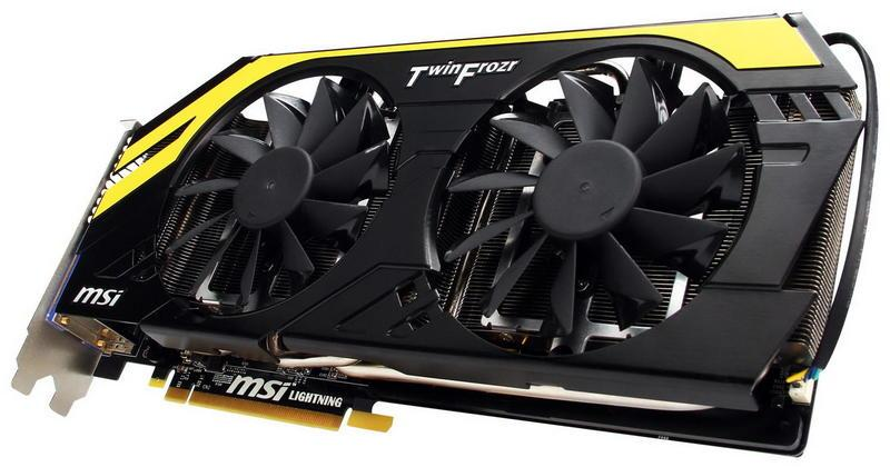 Видеокарта MSI GeForce GTX 770 Lightning 2GB GDDR5 (256bit) Б.У.