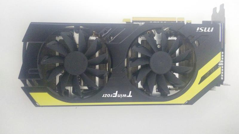 Видеокарта MSI GeForce GTX 770 Lightning 2GB GDDR5 (256bit) Б.У. - Фото 4