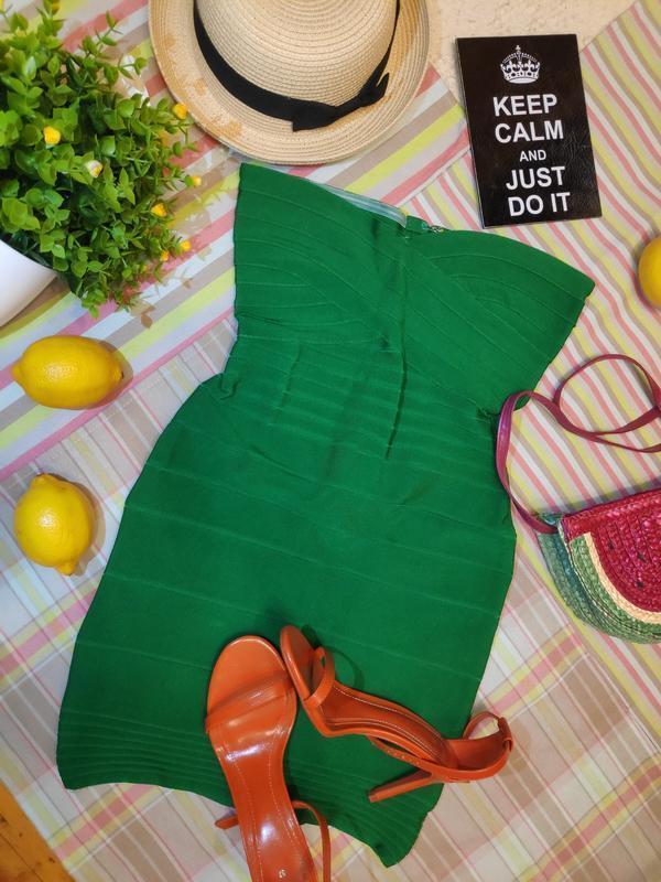 #розвантажуюсь оригинал бандажное платье бондо herve leger - Фото 2