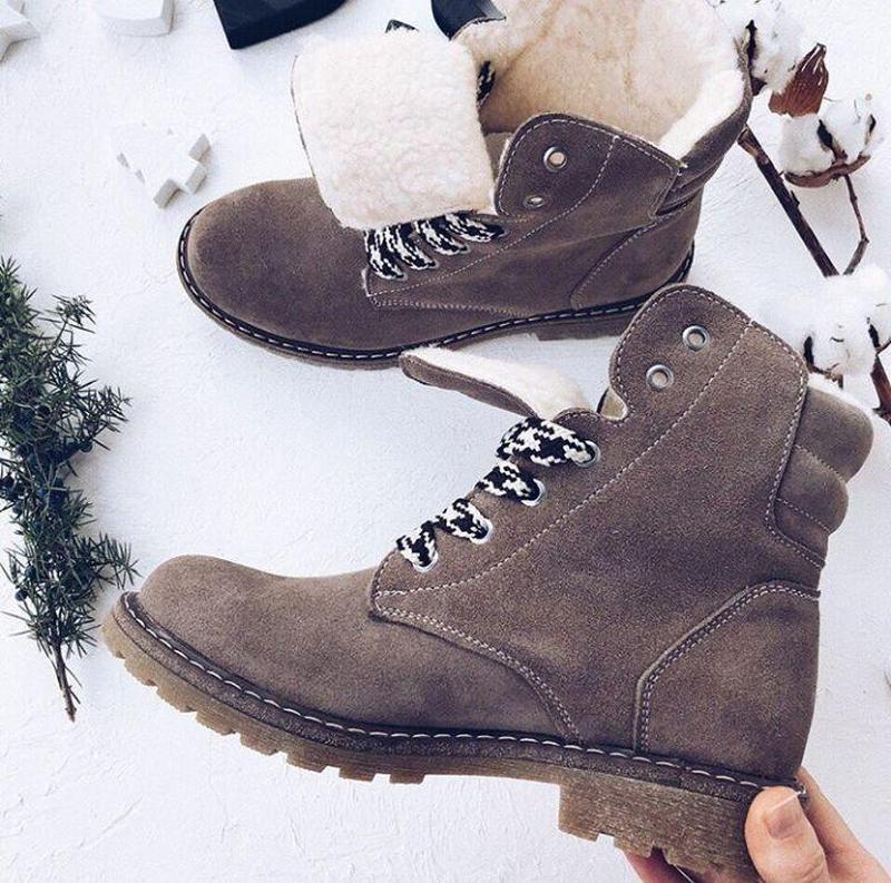 36-41 натуральные замшевые ботинки бежевые / деми зима