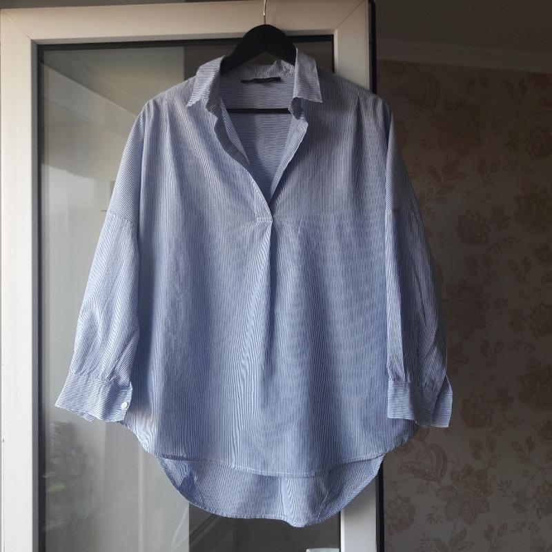 Блуза рубашка хлопковая