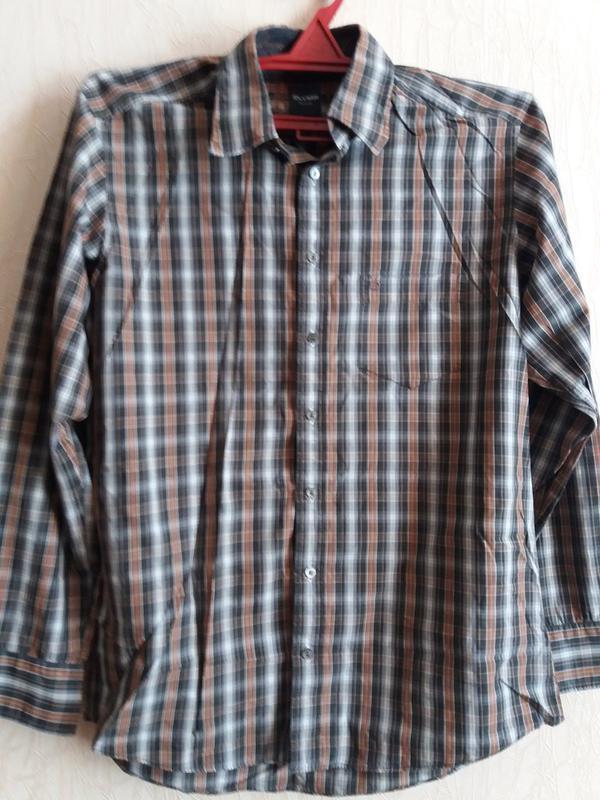 Рубашка-бренд-olymp м