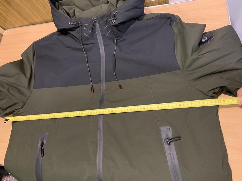Мужская весенняя куртка ветровка c капюшоном от (GLO-STORY) - Фото 4
