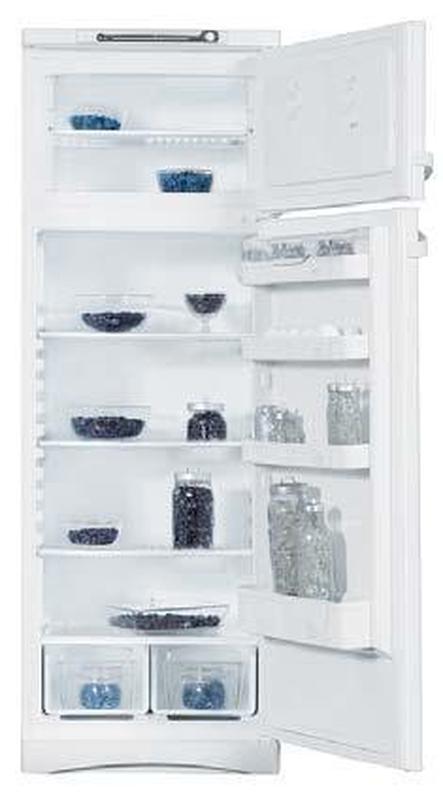 Двухкамерный холодильник indezit st 167