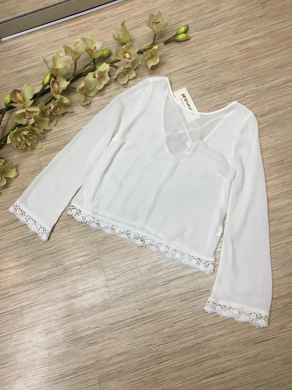 Нежная блуза от н&m