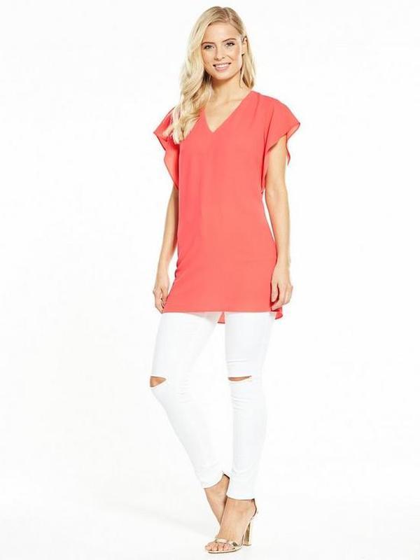 Удлиненная блуза от by very