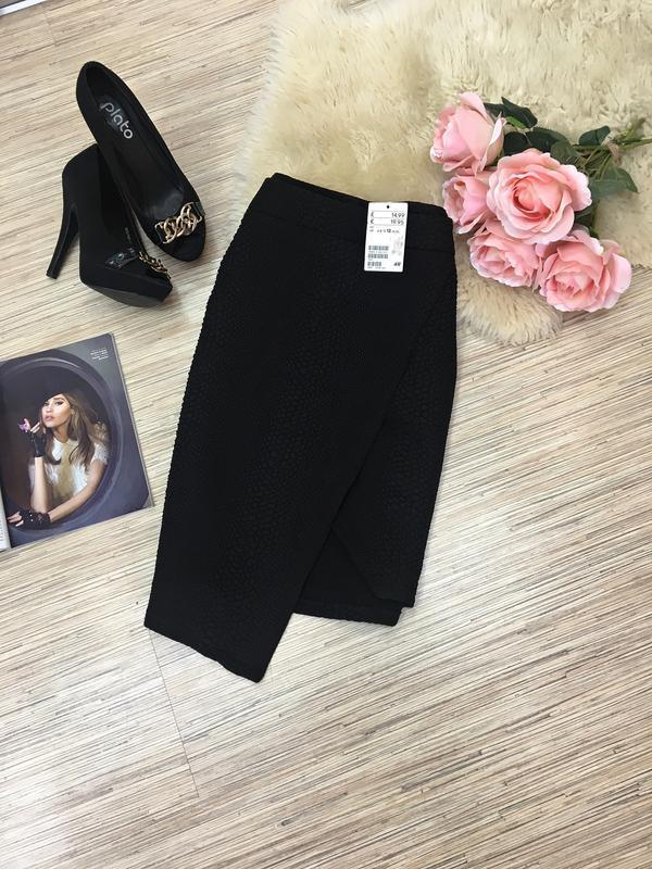 Асимметричная юбка от h&m