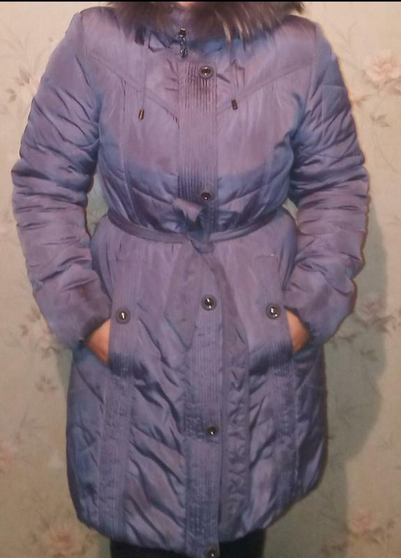 Зимняя куртка пальто пуховик теплая