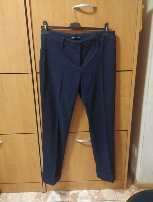 Хлопковые тканевые брюки