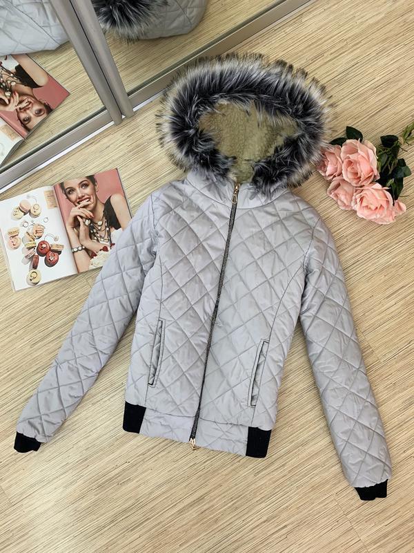 Зимняя стеганая куртка