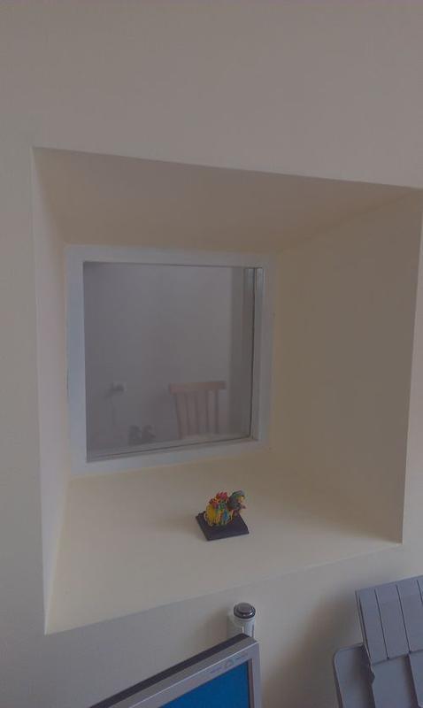 Окно рентгенозащитное