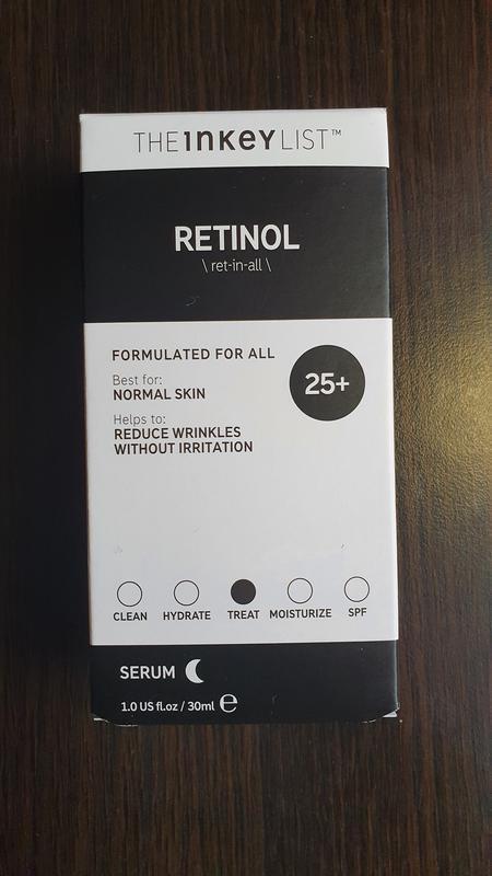 Сыворотка для лица the inkey list retinol serum.