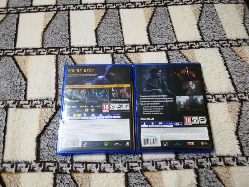 Диски PS4 - MK11 Mortal Kombat 11 - The Last of us 2 - Фото 2