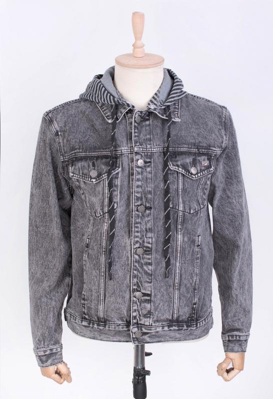 Мужчинам куртка джинсовая и-rb9877-1 весна/осень