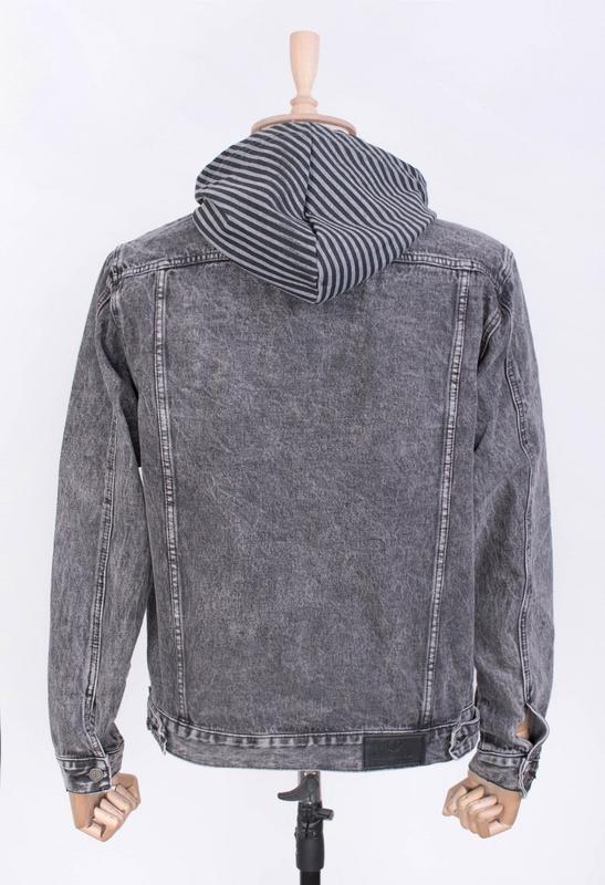 Мужчинам куртка джинсовая и-rb9877-1 весна/осень - Фото 2