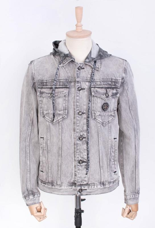 Мужчинам куртка джинсовая и-rb9900 весна/осень