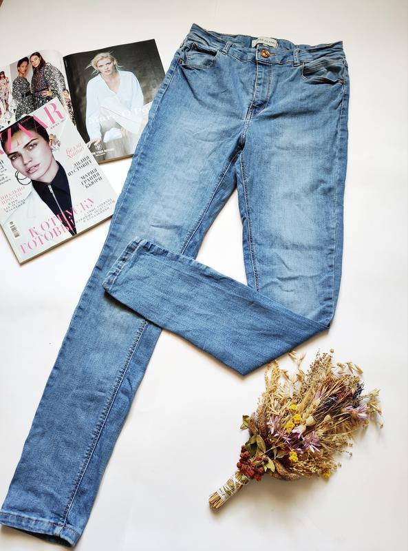 Классические джинсы высокая посадка river island