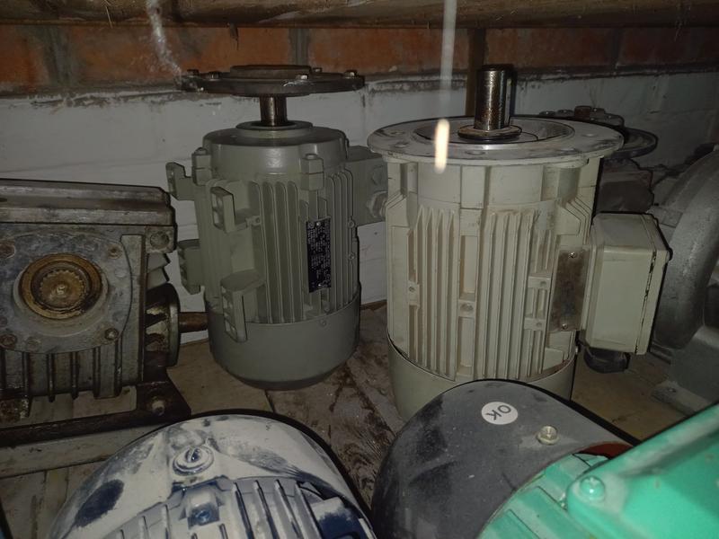 Электродвигатель weining 2.2 квт 3000 об с эл.тормоз