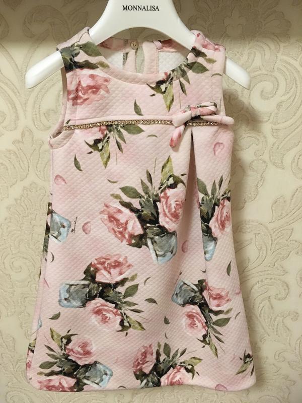 Платье monnalisa оригинал италия сарафан