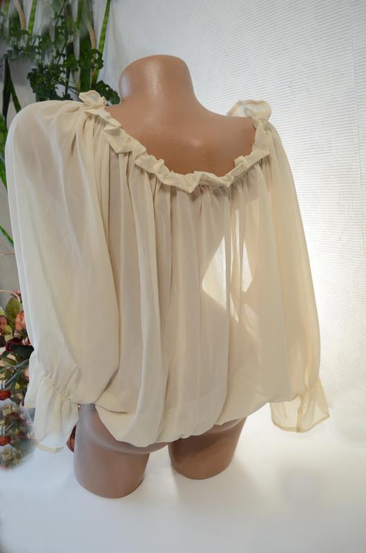 Блуза нюд, очень сексуальная,