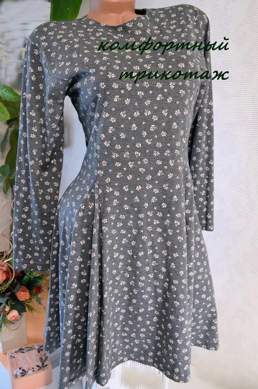 Платье легкое трикотажное c&a,