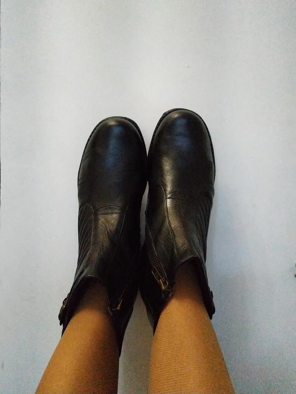 Ботинки женские mareo uno, брендовая обувь в распродаже! - Фото 8