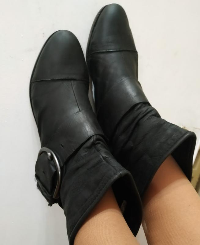 Ботинки чопперы италия, на объемную, распродажа обуви, много б...