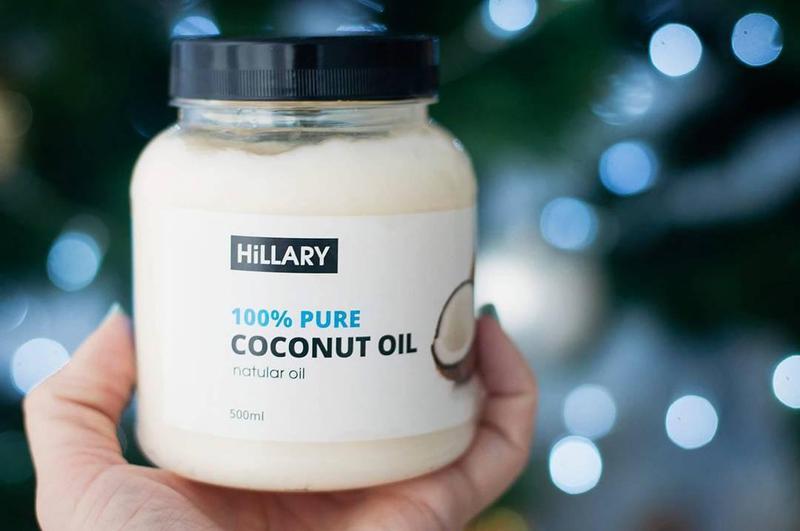 Кокосовое масло рафинированное Hillary Premium Quality