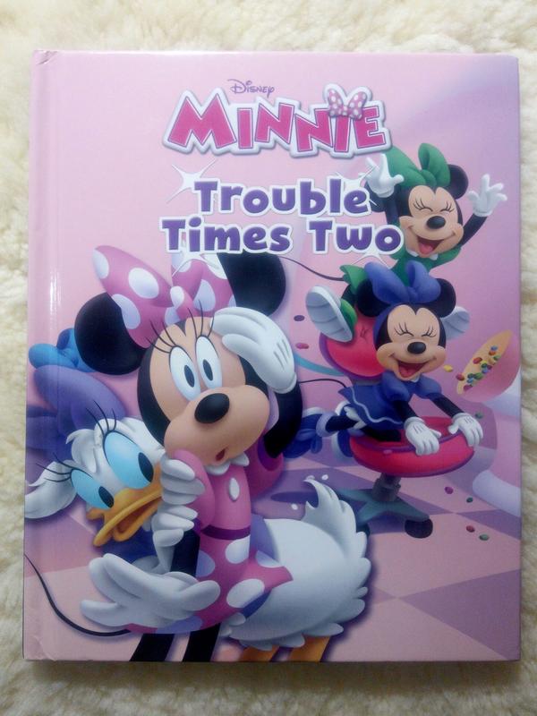 Книга на английском языке от Disney: Minnie Trouble Times Two