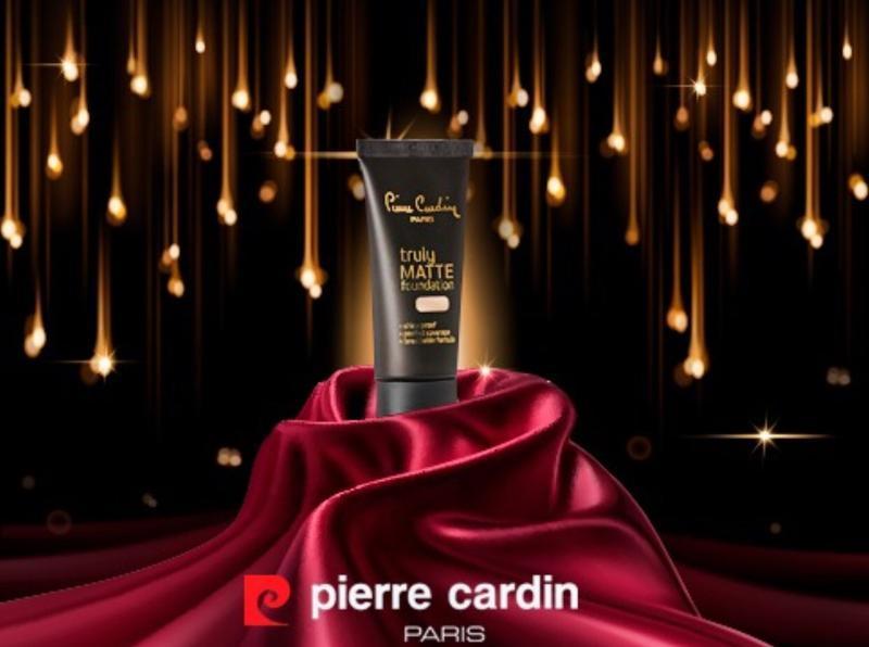 Pierre cardin truly matte foundation - тональный крем - розово... - Фото 7