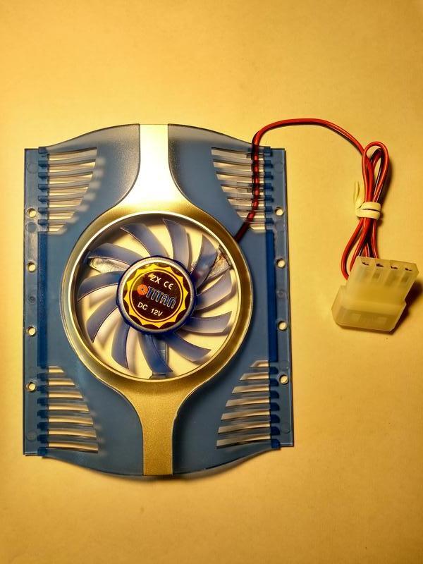 Вентилятор для винчестера TITAN TTC-HD12/TZ, кулер HDD