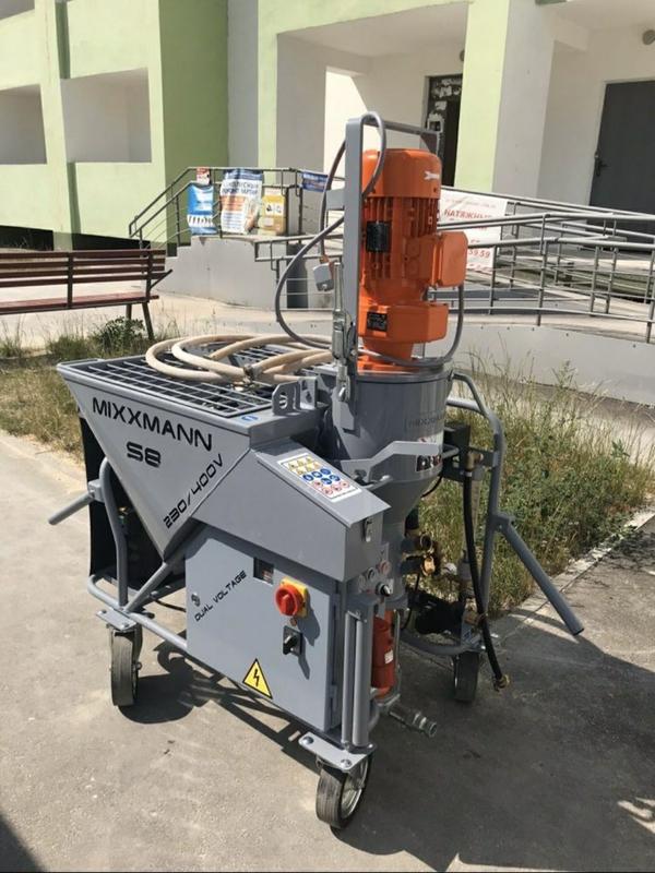 Штукатурная машинка Mixxmann 220/380 вольт