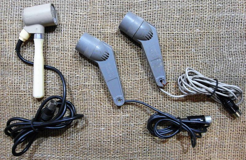 Комплект винтажных микрофонов