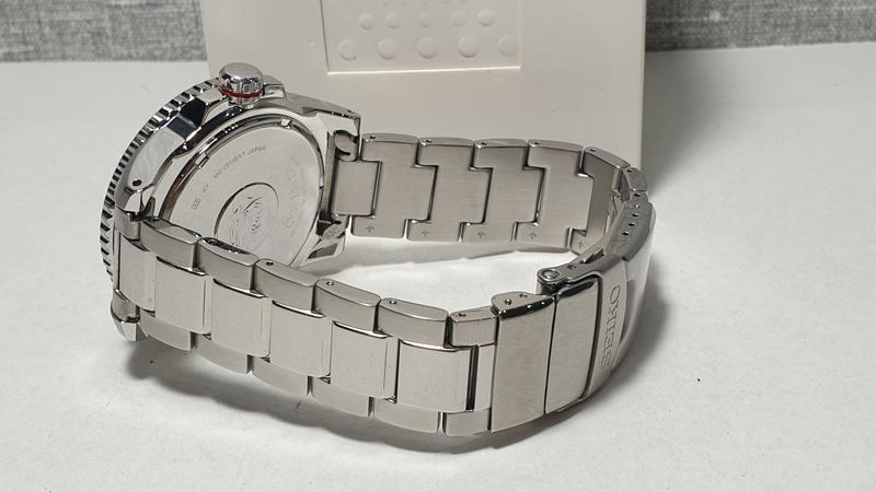 Мужские часы Seiko Prospex Solar Divers Black SNE437P1 как новые - Фото 6