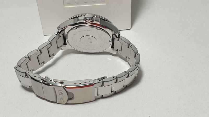 Мужские часы Seiko Prospex Solar Divers Black SNE437P1 как новые - Фото 5