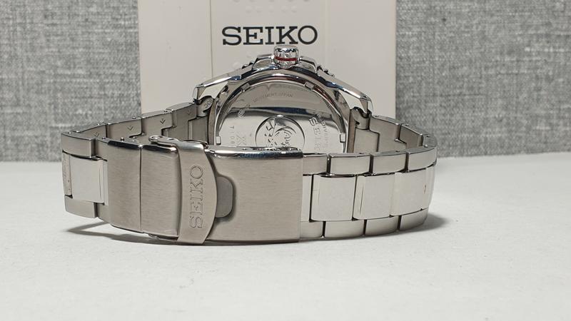 Мужские часы Seiko Prospex Solar Divers Black SNE437P1 как новые - Фото 7