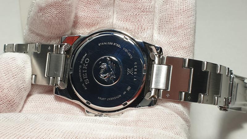 Мужские часы Seiko Prospex Solar Divers Black SNE437P1 как новые - Фото 10