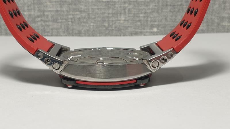 Мужские часы Seiko Sportura Chronograph Honda Racing SNA749 Sapph - Фото 6