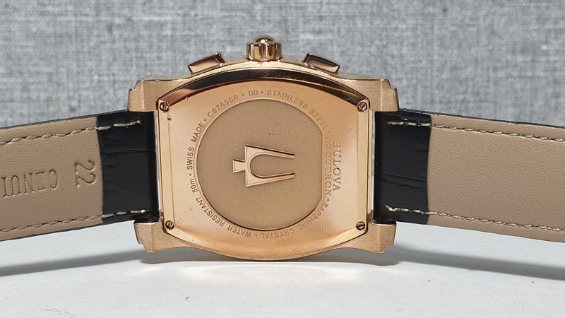 Мужские часы bulova accutron 64b114 sapphire - Фото 2