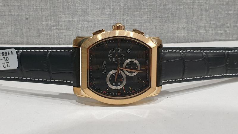 Мужские часы bulova accutron 64b114 sapphire - Фото 4